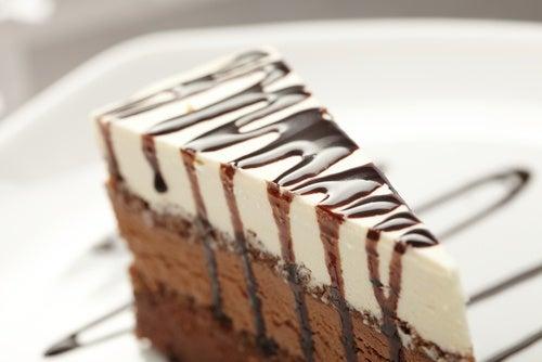 tarta yogur y nutella