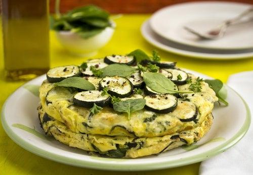 tortilla calabacin