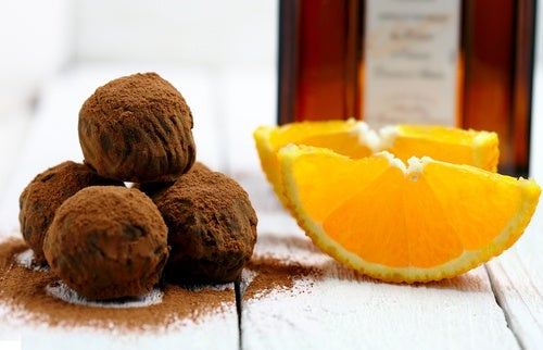 Trufas de naranja