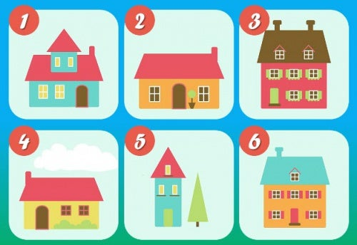 El test de las 6 casas