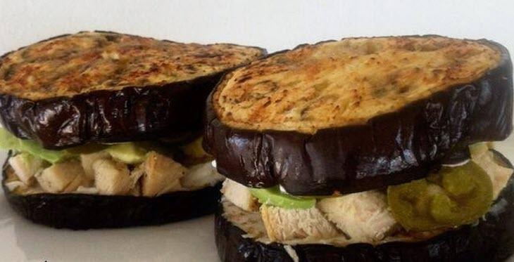 6 asombrosas ideas de sándwich sin pan que te encantarán