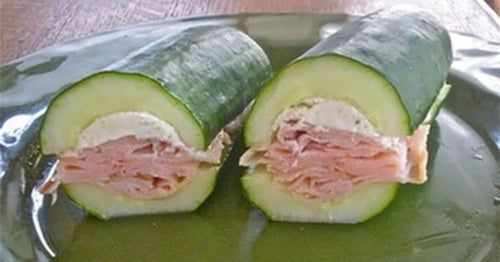 Cómo hacer un sándwich vegetal sin pan