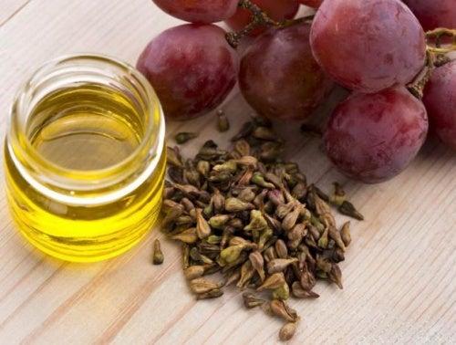 aceite uva para potenciar el crecimiento del cabello