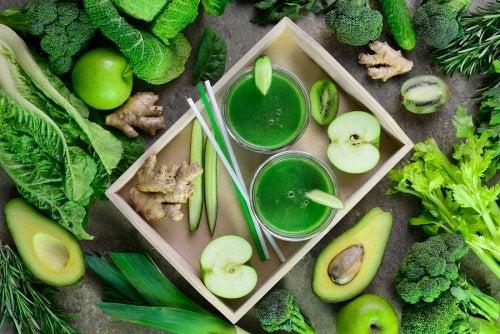 Clorofila, la sangre verde que protege nuestro hígado