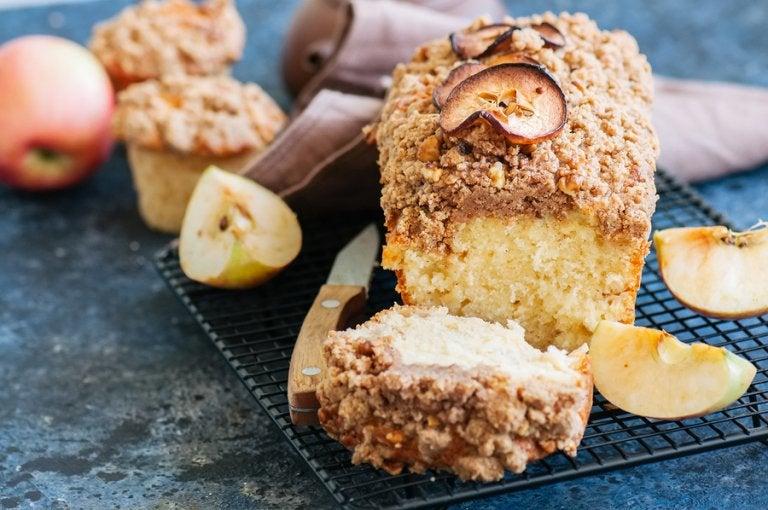 Receta de torta alemana de manzanas