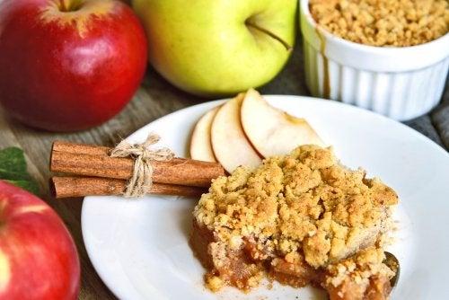 Apfelkuchen o torta de manzana.