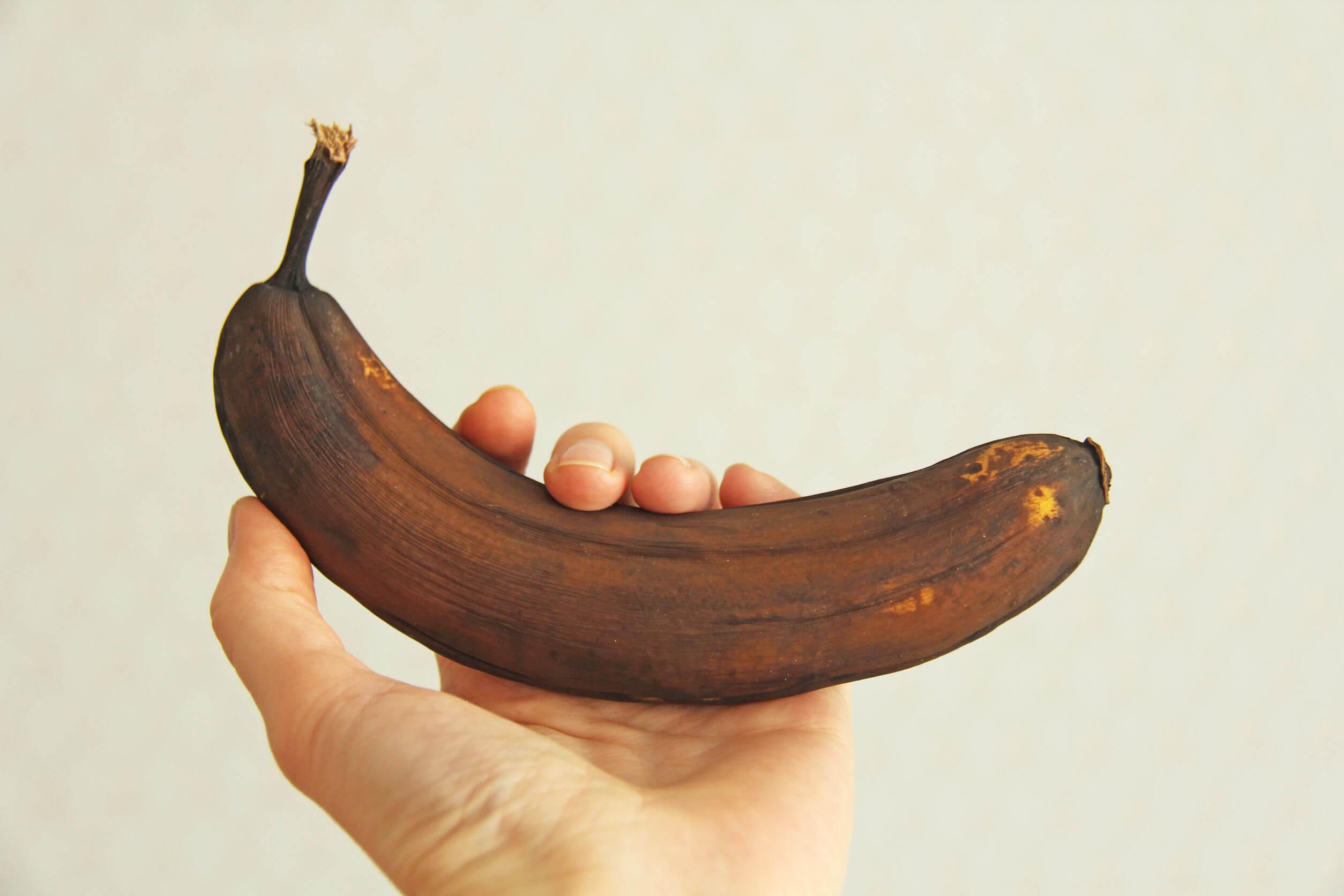 Las frutas demasiado maduras pueden congelarse.