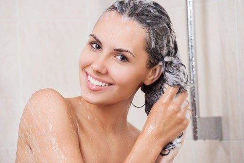 Washing your hair the right way can make it glow.