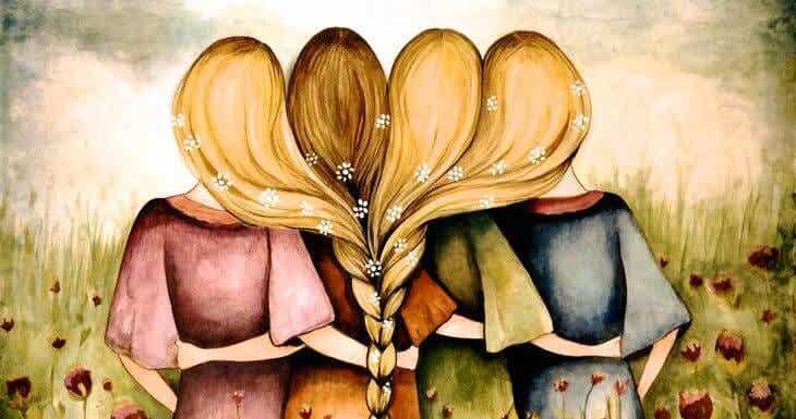 Los amigos benefician seriamente la salud