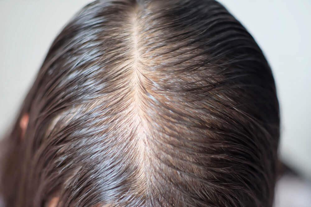 Almidón de maíz para el cabello