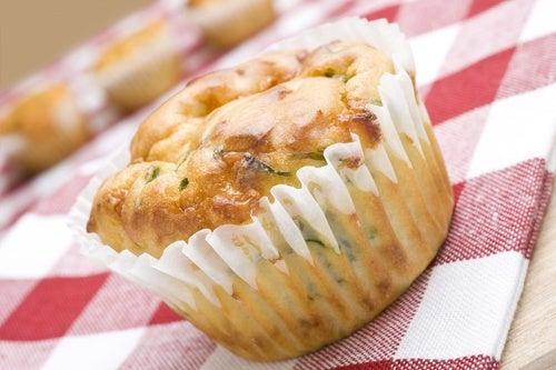 Recetas de muffins de queso, salados y dulces