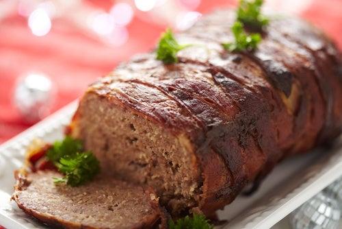 Pastel de carne con especias