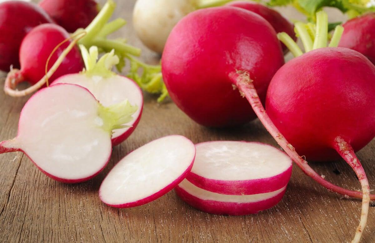 propiedades del rábano rojo para adelgazar