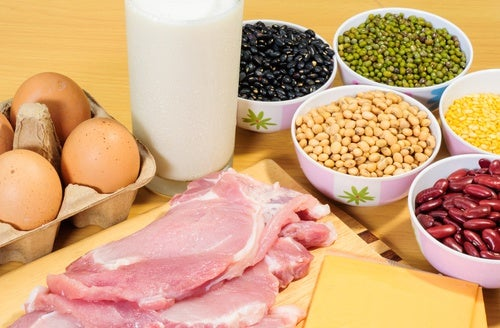Consume proteínas mientras haces ejercicio físico para acabar con la flacidez
