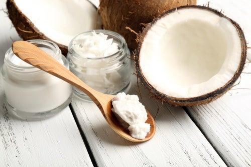 Crema de aceite de coco