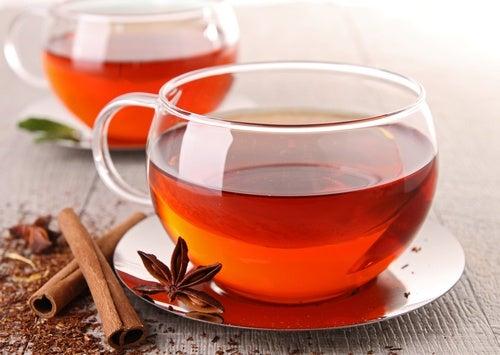 Infusión de té de canela