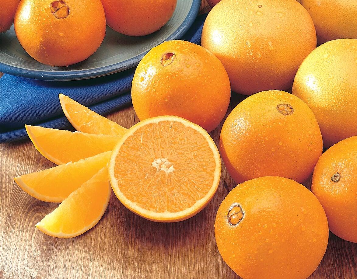 alimentos ricos en luteína: Naranjas