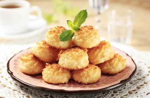 Recetas saludables con coco: bolitas de coco