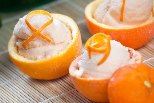 Crema de naranja para diabéticos