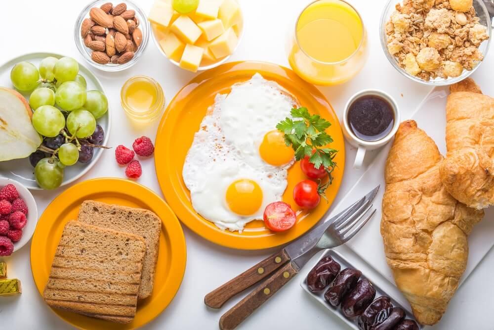 11 ingredientes para un desayuno sano.