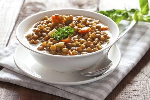 Lentejas, fuente de proteínas y antioxidantes