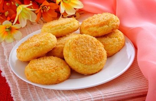 Mantecados de zanahoria