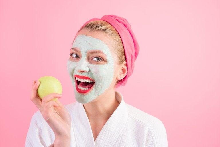 Mascarilla de manzana para la salud de tu piel