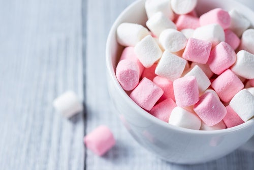 Nubes caseras o marshmellows