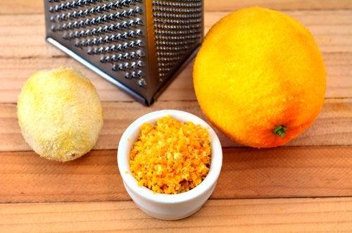 lemon rind
