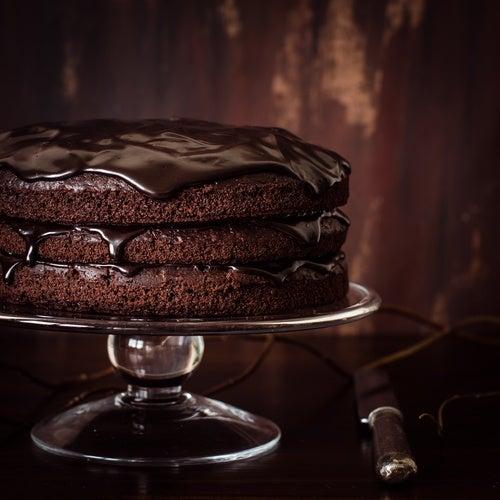 tarta de crema de chocolate