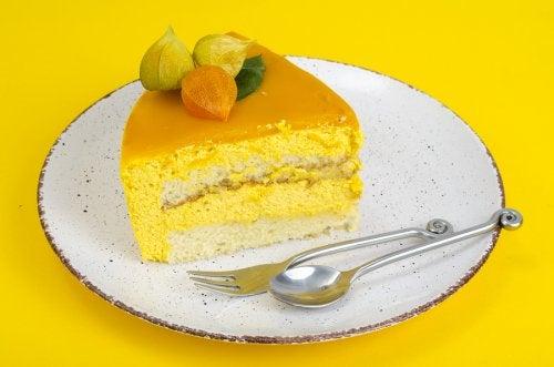 La tarta de mousse de naranja: exquisitez cítrica.