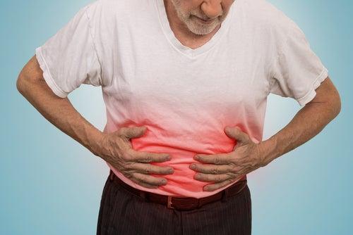 A dor ambominal pode ser sintoma das úlceras estomacais