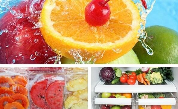 10 trucos para conservar las frutas en las mejores condiciones