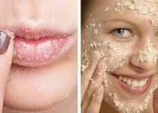 Cómo elaborar un exfoliante natural para el rostro y los labios
