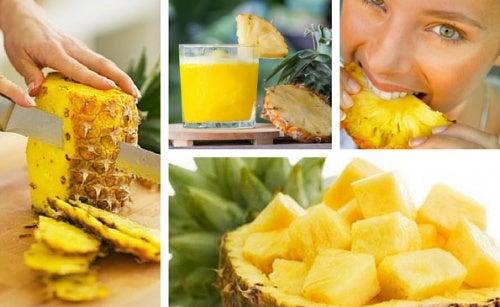 Cómo hacer una dieta de desintoxicación con piña