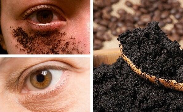 Cómo preparar una crema natural de café para el contorno de los ojos