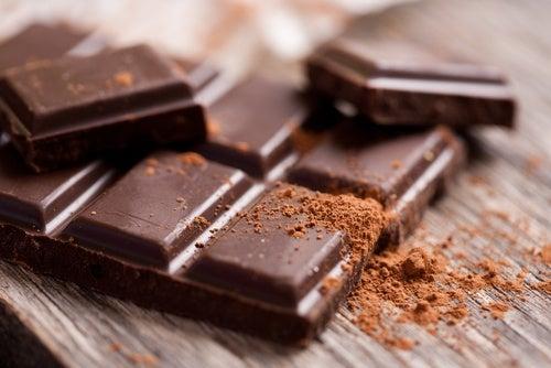 Chocolate para para controlar la ansiedad