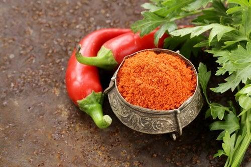 Usos de la pimienta de cayena