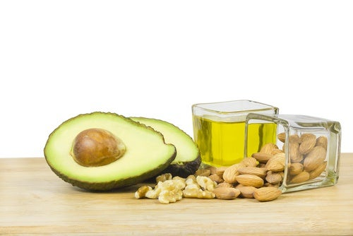 Foods that have healthy fats.