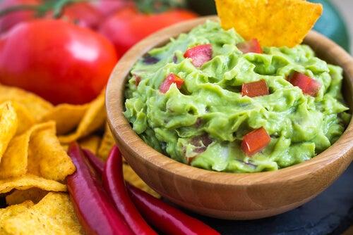 Receta casera de guacamole