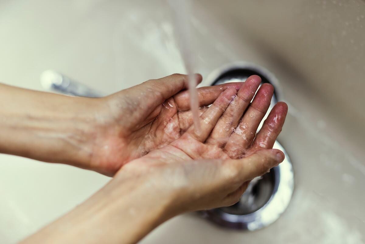 lavado manos prevenir infecciones