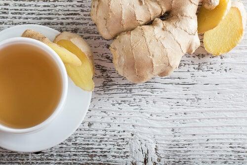 Limpia el hígado y fortalece tus defensas con té de jengibre