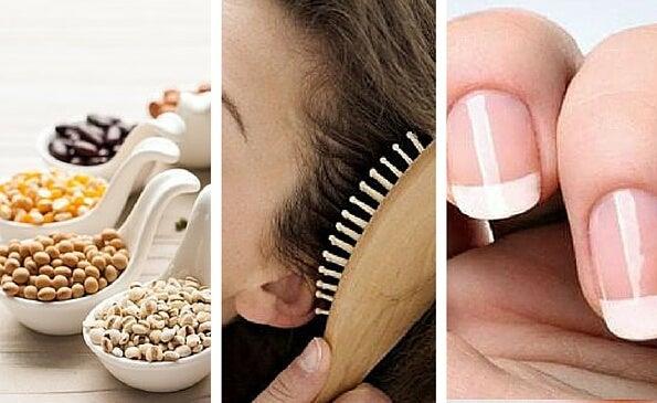Los 9 mejores alimentos para un cabello y uñas fuertes