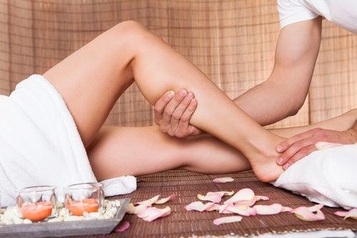 relajar las piernas