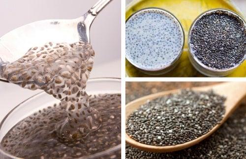 Semillas de chía, un remedio natural contra el estreñimiento