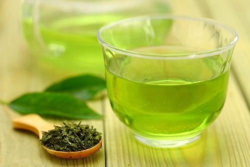 Té verde para desintoxicar el cuerpo