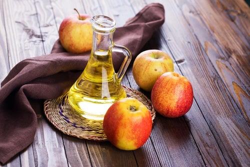 Vinagre de sidra de manzana para la grasa
