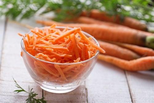 Yogur y zanahoria