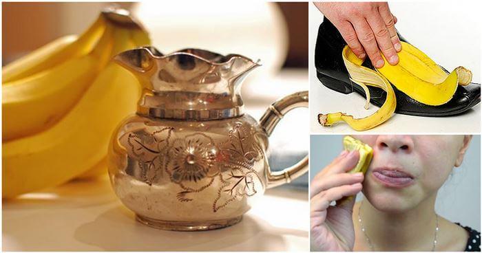 10 usos asombrosos de la cáscara de banana