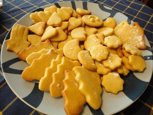 Galletas danesas de mantequilla